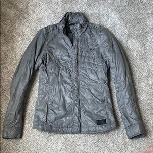 G-Star Metallic Gray Puffer Coat. Sz XS.